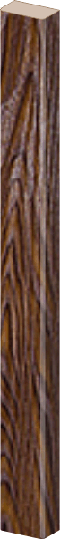 ПВХ дуб шоколадный