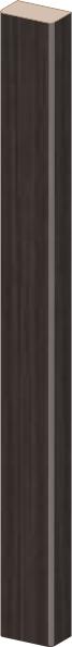 ПВХ темный орех рифленый