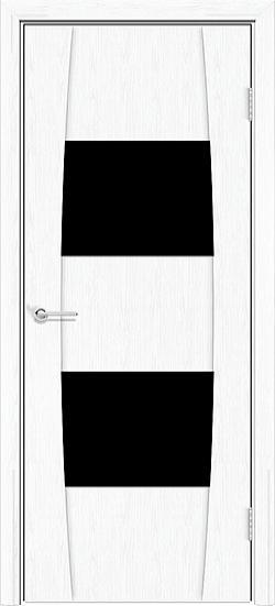Белая патина с черным