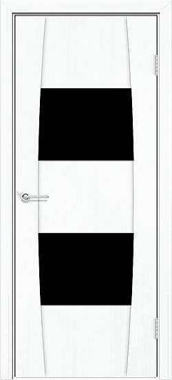 Белый с черным