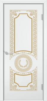 Б6 Белая эмаль патина