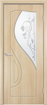 Фото двери Премьера с фьюзингом цвет Белёный дуб