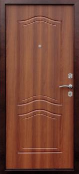 Входная дверь Гарда РФ - цвет Орех