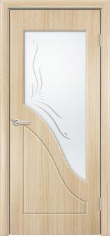 Фото двери Жасмин цвет Беленый дуб ДОФ