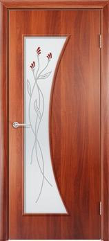 Фото двери Афина цвет Итальянский орех ДОФ