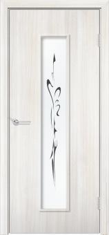 Фото двери Камила цвет Белёный дуб ДОФ