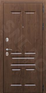Входная дверь Канцлер 2К - цвет Внешняя сторона