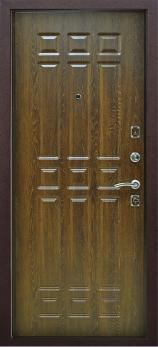 Входная дверь Кантри - цвет Дуб коньяк