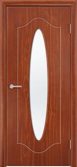 Фото двери Овал цвет Итальянский орех ДО