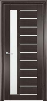 Фото двери S13 цвет Темный орех рефлёный