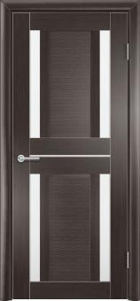 Фото двери S26 цвет Орех темный рифленый
