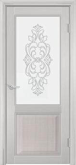Фото двери S42 цвет Лиственница беленая ДО