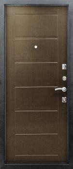Входная дверь Сити - цвет Венге кофе