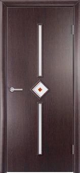 Фото двери Соло цвет Венге ДОФ