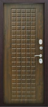 Входная дверь Титан - цвет Дуб коньяк
