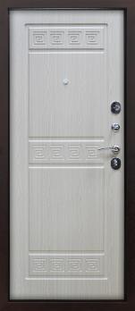 Входная дверь Троя - цвет Беленый дуб