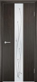 Фото двери Глория цвет Венге